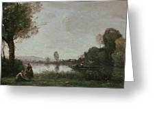 The Seine At Chatou Greeting Card