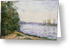 The Seine Near Greeting Card