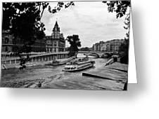 The Seine Paris1 Greeting Card
