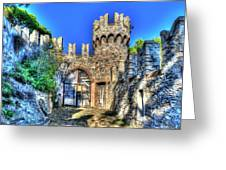 The Senator Castle - Il Castello Del Senatore Greeting Card