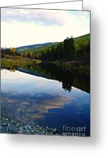 The Serenity Of The Moyie  Greeting Card