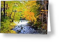 The Serenity Prayer Greeting Card