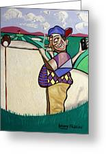 The Seventh Hole I Did It My Way Greeting Card