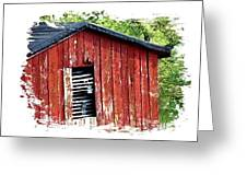 The Shack  Greeting Card by Linda Carroll