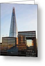 The Shard 1 Greeting Card