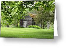 The Shed In The Trees Greeting Card