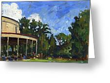 The Shed Tanglewood Greeting Card