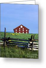The Sherfy Farm At Gettysburg Greeting Card