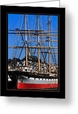The Ship Balclutha Greeting Card