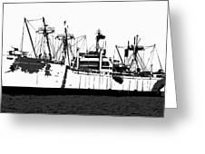 The Ship Greeting Card