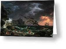 The Shipwreck Greeting Card