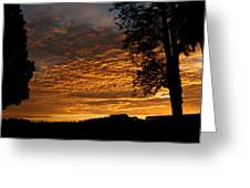 The Shortest Day Sunrise Greeting Card