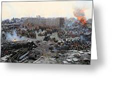 The Siege Of Sevastopol Greeting Card