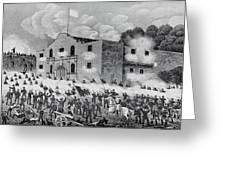 The Siege Of The Alamo Greeting Card
