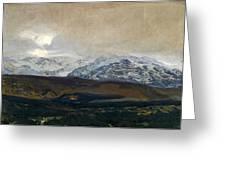 The Sierra De Guadarrama Greeting Card