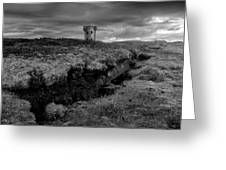 The Signal Tower, Glen Head Greeting Card