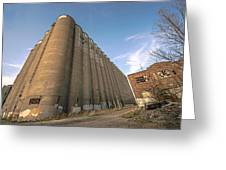 The Silo Effect Greeting Card