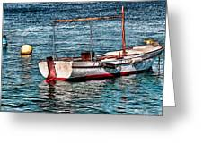 The Simple Life Mykonos Greeting Card