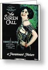The Siren Call Greeting Card