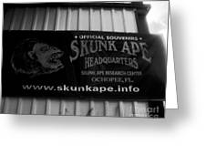 The Skunk Ape Greeting Card