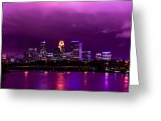 The Sky Was So Purple...  Greeting Card