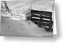 The Snow Gate  Greeting Card