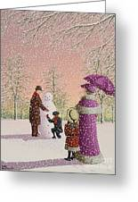 The Snowman Greeting Card