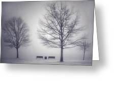 The Soft Breath Of Winter Greeting Card