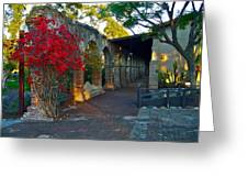 The Soldiers Barracks San Juan Capistrano Mission California Greeting Card