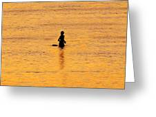 The Son Of A Fisherman Greeting Card by David Lee Thompson