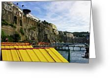 The Sorrento Coast Greeting Card