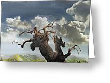 The Soul Of A Tree Greeting Card