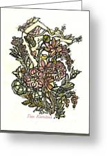 The Soul Of Wildflowers Greeting Card