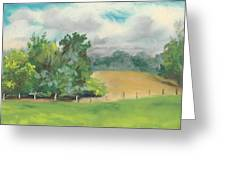 The South Field Greeting Card