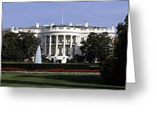 The South Side Of The White House Greeting Card