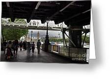 The Southbank, London Greeting Card