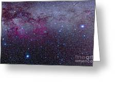 The Southern Milky Way Greeting Card