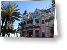 The Southernmost House In Key West Greeting Card