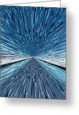 The Speed Of Light Greeting Card