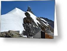 The Sphinx At Jungfrau Greeting Card