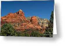 The Sphinx Rock Formation Greeting Card
