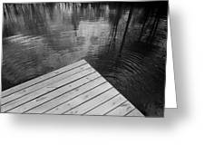 The Spirits Of Kripplebush Pond Greeting Card
