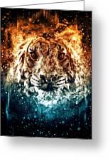 The Spirit Tiger Greeting Card