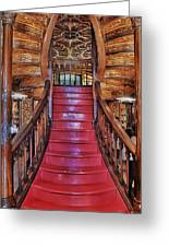 The Splendor Of Stairs Greeting Card
