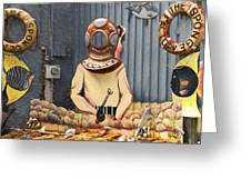 The Sponge Factory Greeting Card