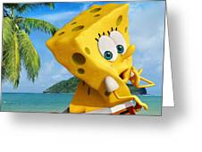 The Spongebob Movie Sponge Out Of Water Greeting Card