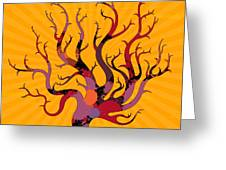 The Spotted Tree Greeting Card