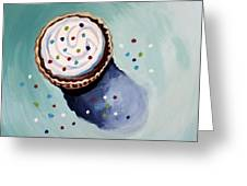 The Sprinkled Cupcake Greeting Card