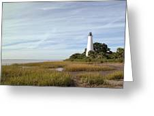 The St Marks Lighthouse Greeting Card