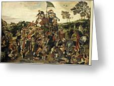The St Martin's Day Kermis Greeting Card